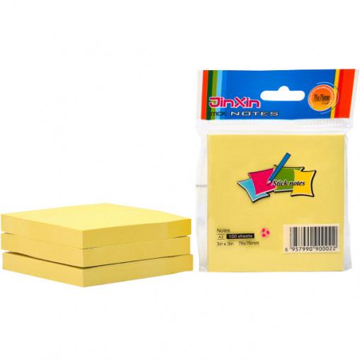 "Бумага для заметок A3-Y/A3 ""стик"" 76*76мм 100 листов"