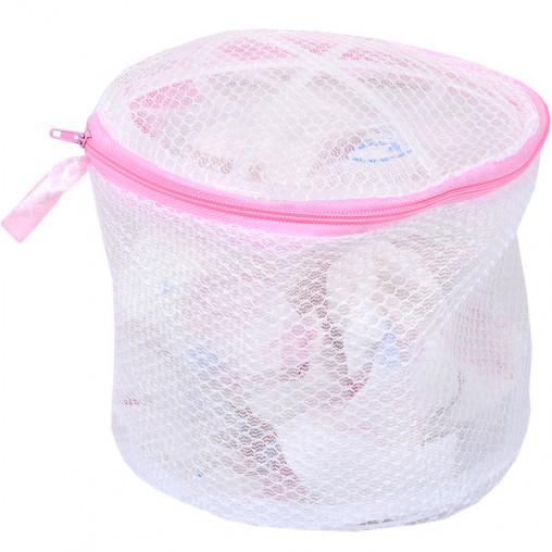Мешок-сетка для стирки бюстгальтера 4112-2, 17см, D15 см