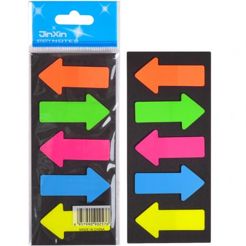 """Закладка неон 5 цветов """"stick Notes"""" Р06-1"""