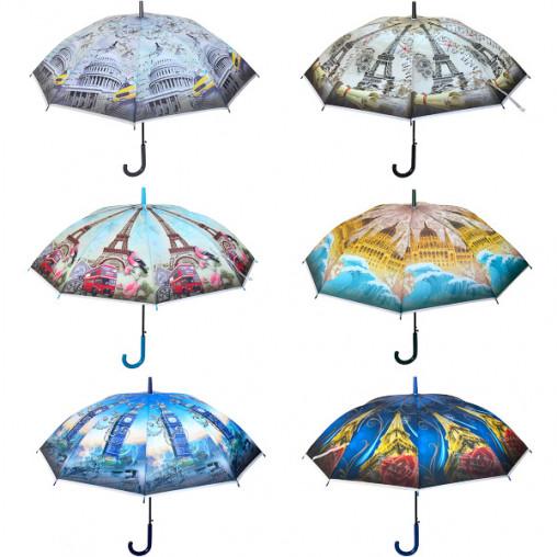 Зонтик - трость, города Х2111/78