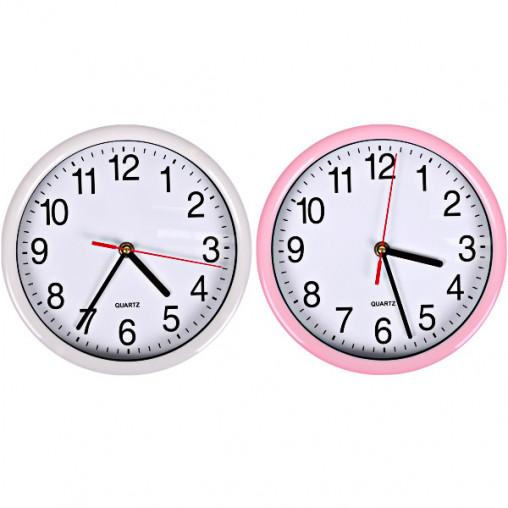 "Настенные часы 8881/Х2-34 ""Классика круг цветные"" 22*4см"