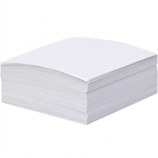 """Блок 300 листов 90*90мм белый офсет """"Коленкор"""" BSM9/300"""