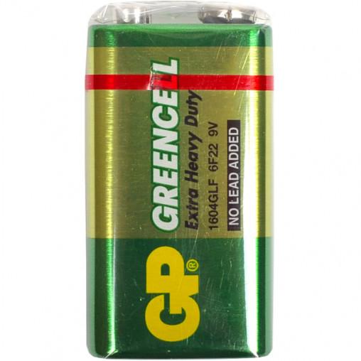 Батарейка GP 1604G-B солевая 6F22 (крона) GP-002205