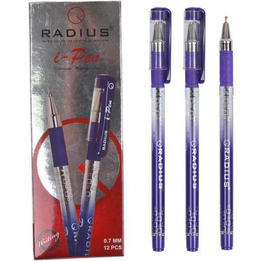 """Ручка """"I Pen"""" RADIUS с принтом 12 штук, фиолетовая 500184"""
