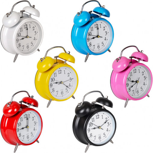 Настольные часы - будильник 668/Х2-34(16)17*12*5,5 см
