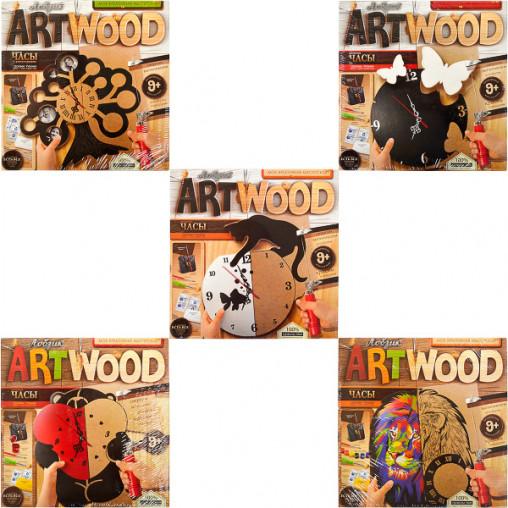"""Набор для выпил. лобзиком """"Artwood"""" - Часы LBZ-01-01-05 ДТ-ОО-09-15"""