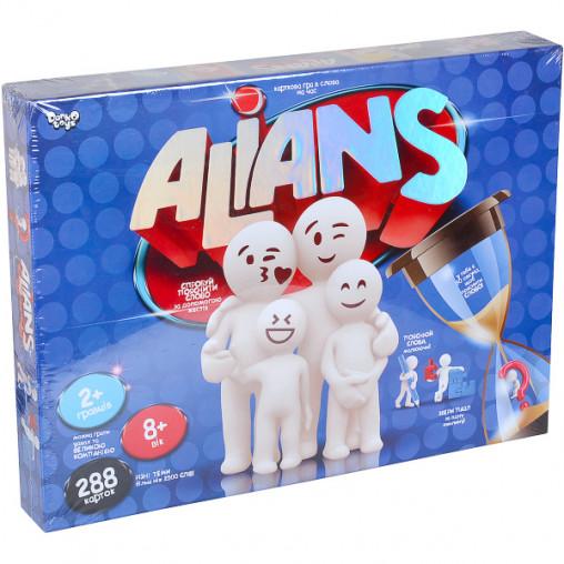 """Настільна розважальна гра """"ALIANS"""" укр G-ALN-01U ДТ-БИ-07-50"""