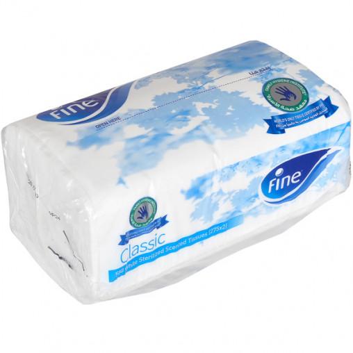 Салфетки бумажные в ПЭТ упаковке (275х2) 218008