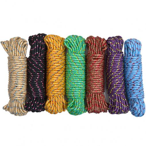 Веревка цветная D 6мм 10м Х2-249/220