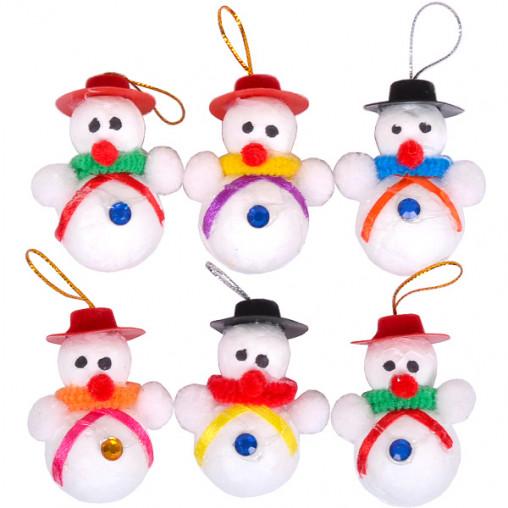 Набор снеговиков 6 шт 12-126/FB8039