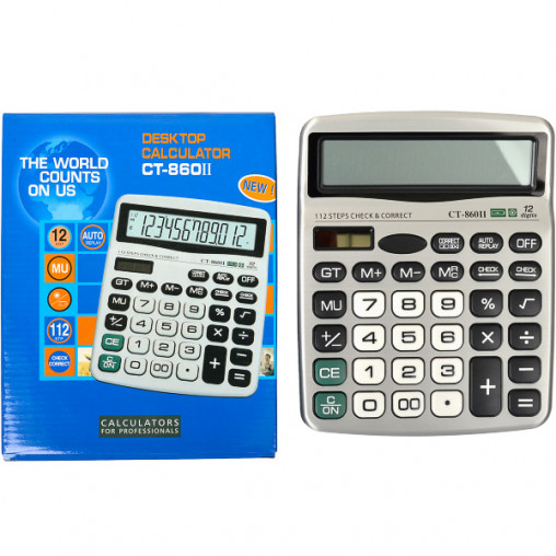 Калькулятор CT-860II 19х15х3 см