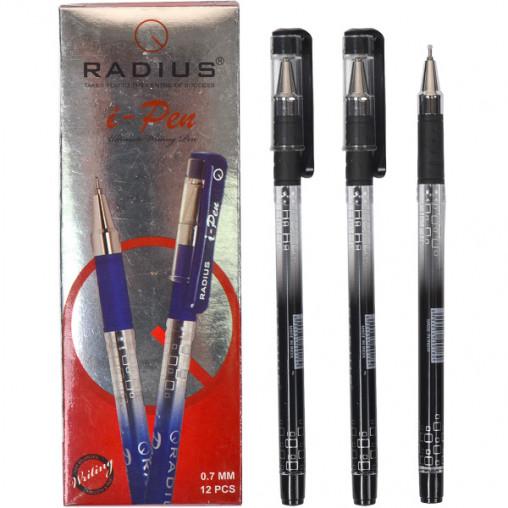 """Ручка """"I Pen"""" RADIUS з принтом 12 штук, чорна"""