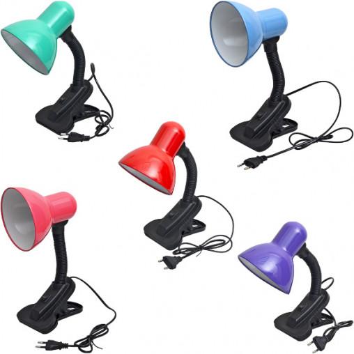 Настольная лампа на прищепке 25см X1-194/108В