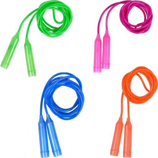 Скакалка цветная пластиковая длина 2,35м D3,8мм 14-122/2417-1