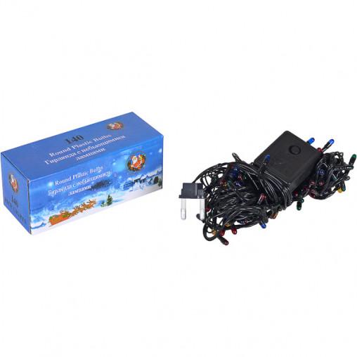 Гирлянда электрическая 140(120) лампочек цветная 13-84