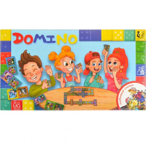"""Настольная игра """"Домино"""" NEW DTG-DMN-01,02,03,04 ДТ-ЛА-06-16"""