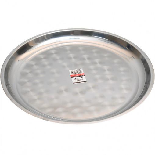 Поднос металлический круглый большой 45см CF-45