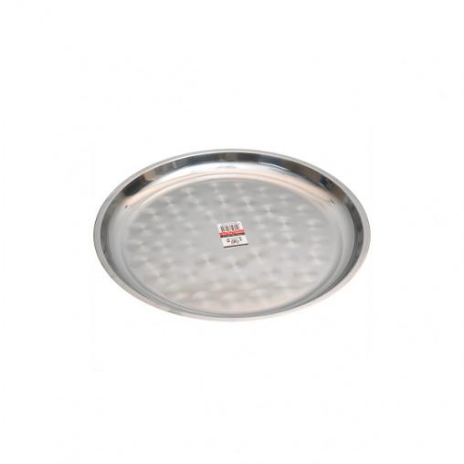 Поднос металлический круглый малый 35см CF-35