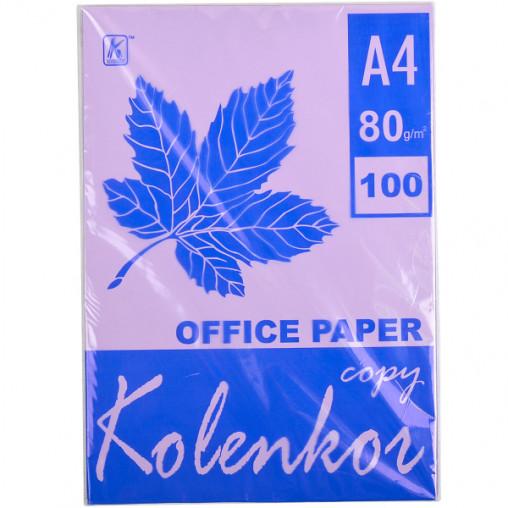 Бумага для ксерокса, А4 100 листов 80г/м² насыщенная TARO 274