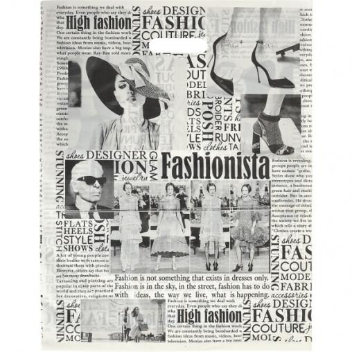 """Пакет полиэтиленовый газета """"Fashion"""""""
