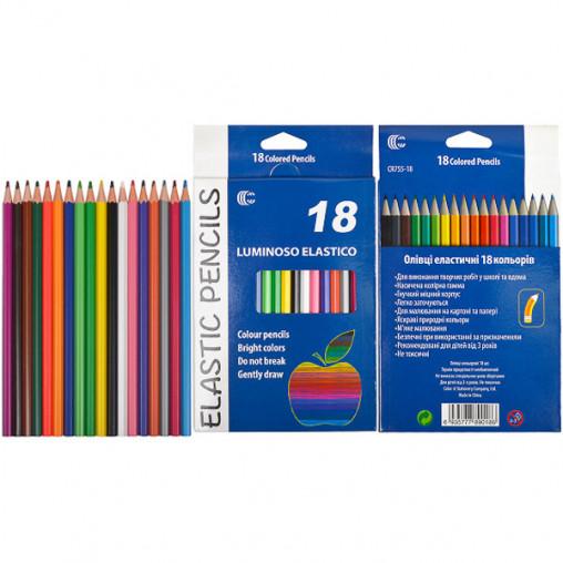 "Карандаш 18 цветов CR755-18 Luminoso elastico ""С"""