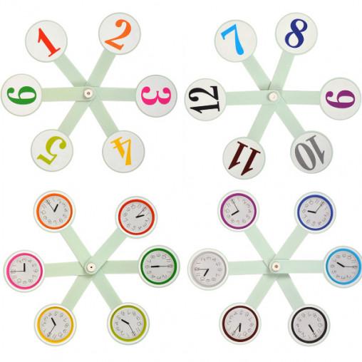"""Веер """"Цифры и часы"""""""