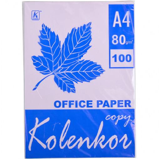 Бумага для ксерокса, А4 100 листов 80г/м² пастель LAVENDER 185