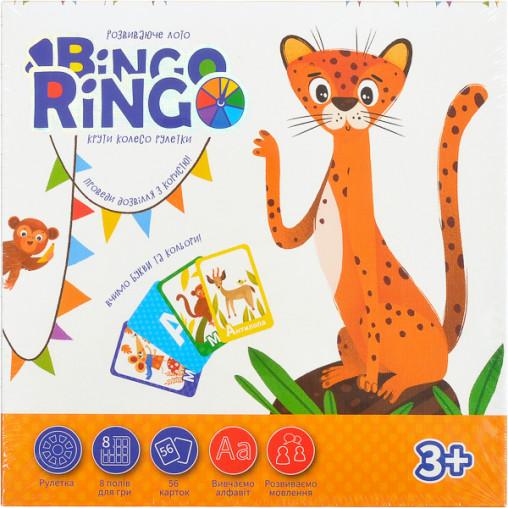 """Игра настольная """"Bingo Ringo"""" укр, GBR-01-01U ДТ-ЛА-06-19"""
