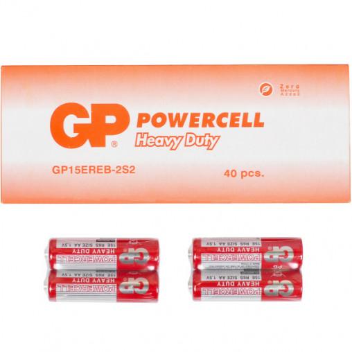 Батарейка GP 15ERЕВ-2S2 по 2 штуки R6 AA GP-079306
