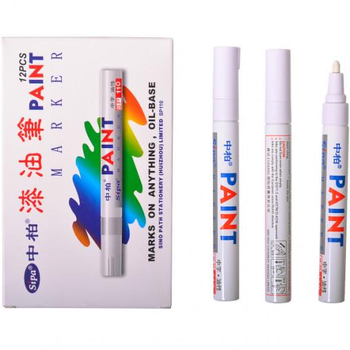 Маркер белый, SP-110 PAINT