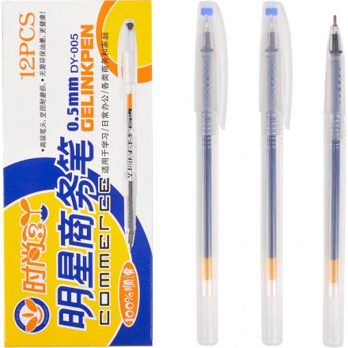 """Ручка гелевая DY-005 """"Commerce"""" синяя"""