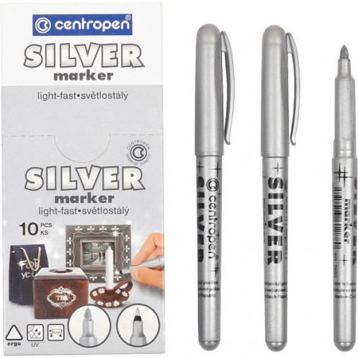 Маркер серебряный 2690/01silver CENTROPEN