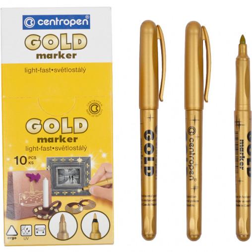 Маркер золотой 2690/01gold CENTROPEN