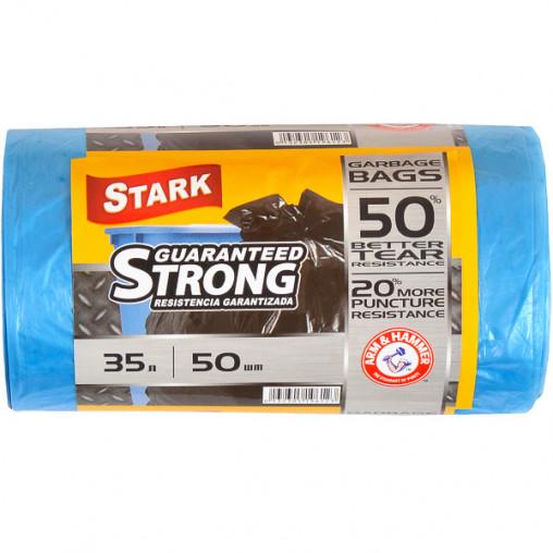 Пакет для мусора прочный 48х58 35л 50 штук TM STARK 5002