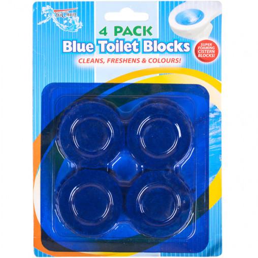 Таблетки для унитаза 4-PACK, D5см Х2-136