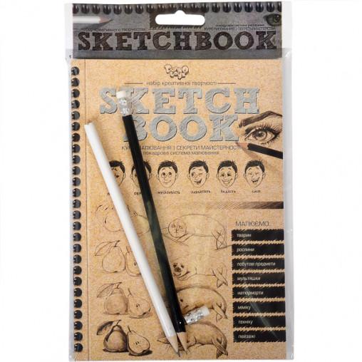 Книга - курс рисования Sketchbook, укр.язык SB-01-02 ДТ-ОО-09-79