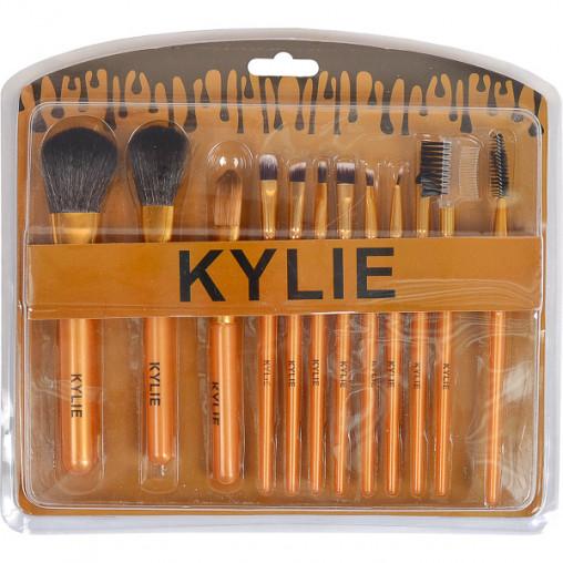 Набор кистей для макияжа 12 штук KYLIE X1-03/980088