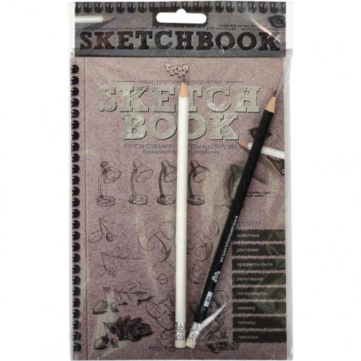 Книга - курс рисования Sketchbook, рус.язык SB-01-01 ДТ-ОО-09-80