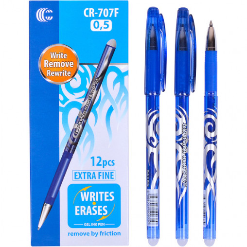 "Ручка ""С"" ""пишет-стирает"" синяя CR-707F"