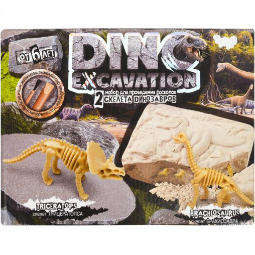 """Набор для раскопок """"Dino excavation"""" укр. DEX-01-01 ДТ-ОО-09112"""