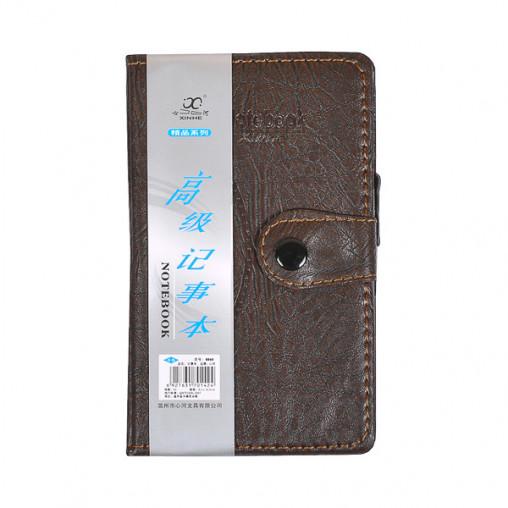 Блокнот 14,5*8,5см с ручкой в обложке кож/зам, клетка 8060