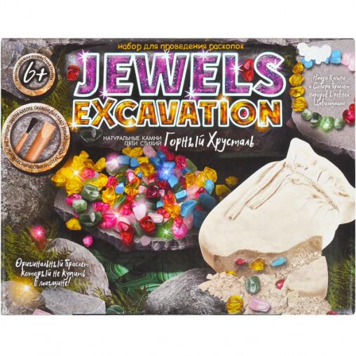 """Набор для раскопок """"Jewels excavation"""" укр. JEX-01-02 ДТ-ОО-09114"""