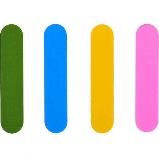 Пилочка полировочная БАФ мини набор 4 шт для ногтей 9*2*0,8см 000147