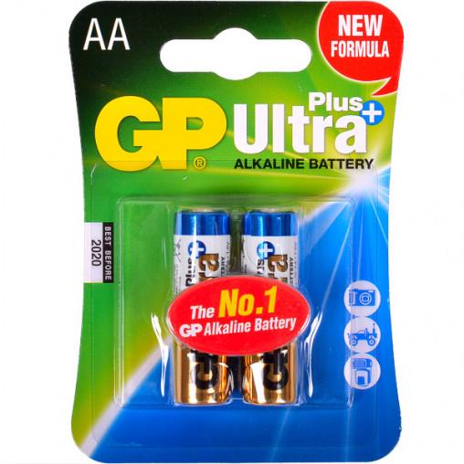Батарейка GP 15AUP-U2 щелочная LR6 AUP. AA Alkaline Ultra+ GP-100246