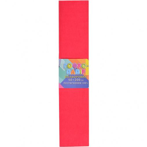 Бумага гофрированная красный арбуз CP-100-705 20г/м2 100%, 50*200см, 10шт./уп. КП034/5