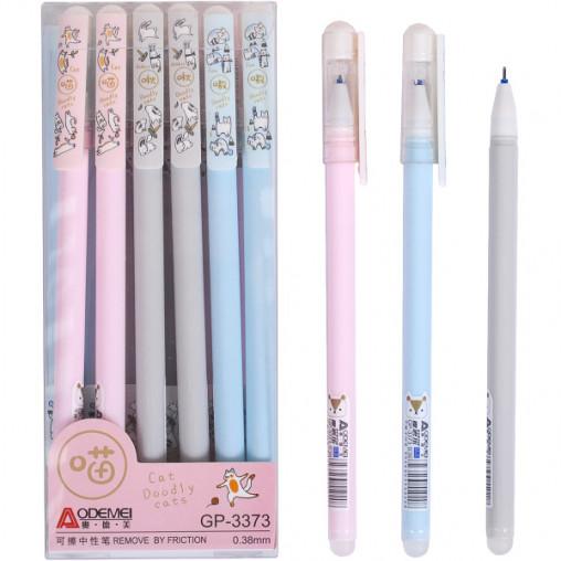 """Ручка """"пишет-стирает"""" 3373 синяя"""