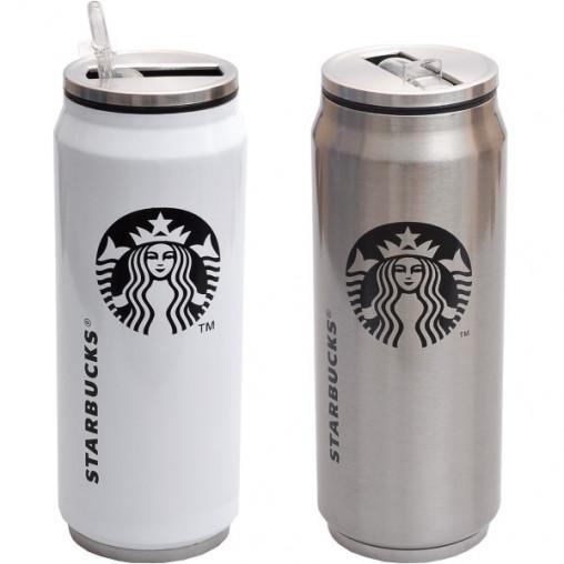 Термокружка Starbucks 500 мл (крышка металл) 18,5*7см Х2-50