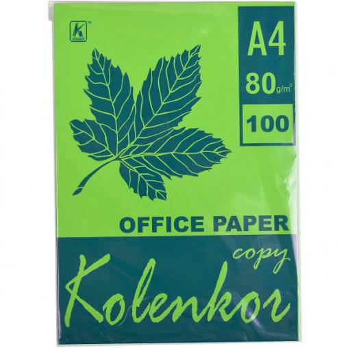 Бумага для ксерокса, А4 100 листов 80г/м² насыщенная PARROT 230