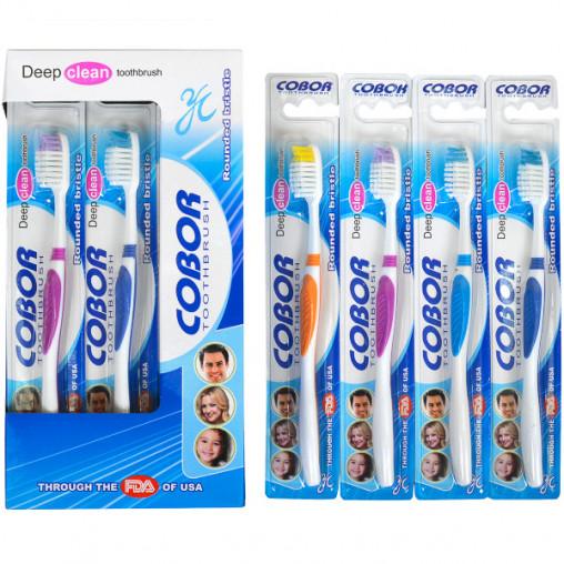 """Зубные щётки волна """"Cobor"""" 18,5 см Е-916"""