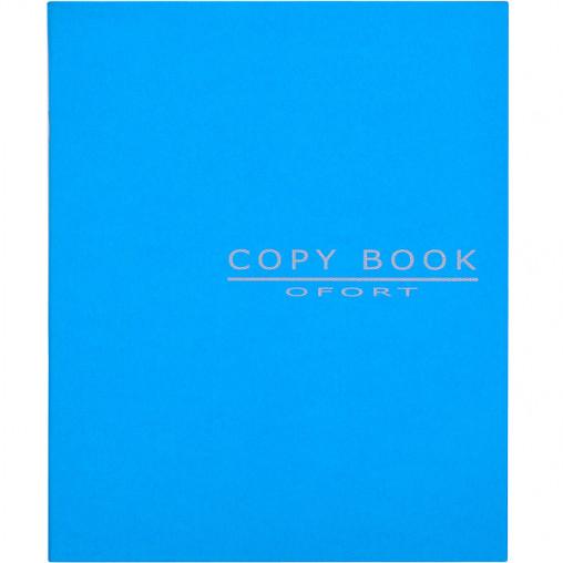 Блокнот для эскизов В5 36л., чистый лист, скоба синий SB5436